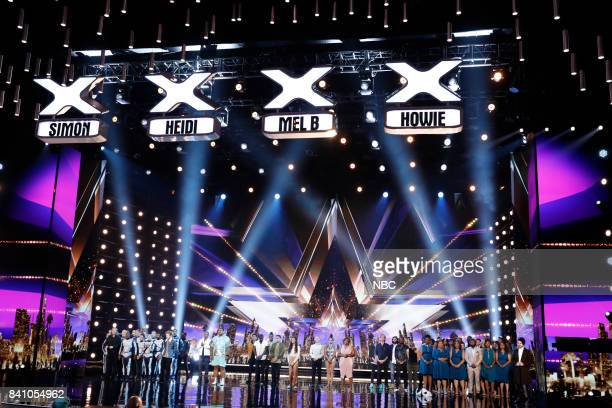 S GOT TALENT 'Live Results 4' Pictured Diavolo Chase Goehring Mike Yung Oscar Hernandez Final Draft Angelina Hale Junior Emily Alabi Kechi Oskar...