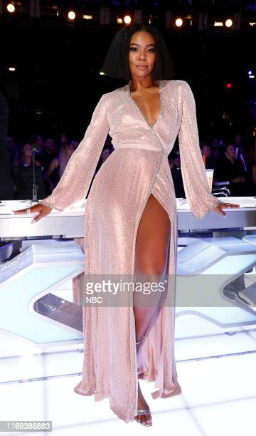 "S GOT TALENT ""Live Results Finale"" Episode 1423 Pictured Gabrielle Union"