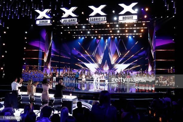 "S GOT TALENT ""Live Results Finale"" Episode 1423 Pictured V Unbeatable Kodi Lee Light Balance Kids Ryan Niemiller Emanne Beasha Ndlovu Youth Choir..."