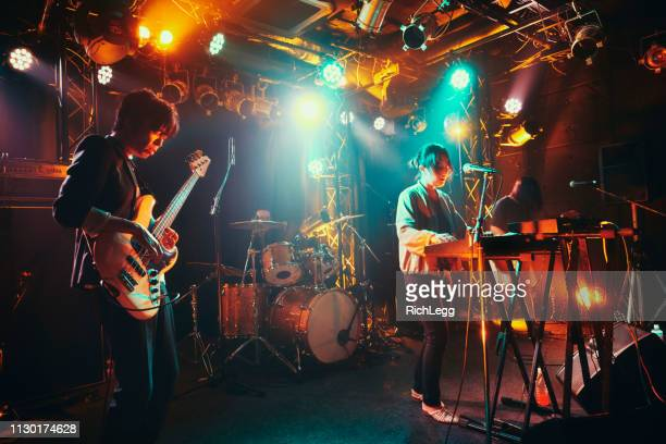 Live Rock Band Performance in Tokyo Japan