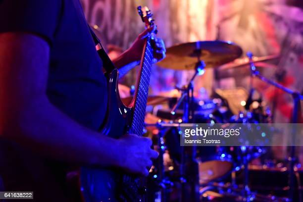 live rock music concert - concert hall stock pictures, royalty-free photos & images