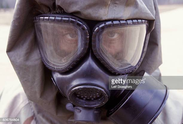 Live sarin and VK nerve agent training Photo by Leif Skoogfors/Corbis | Location Fort Leonard Wood Missouri United States