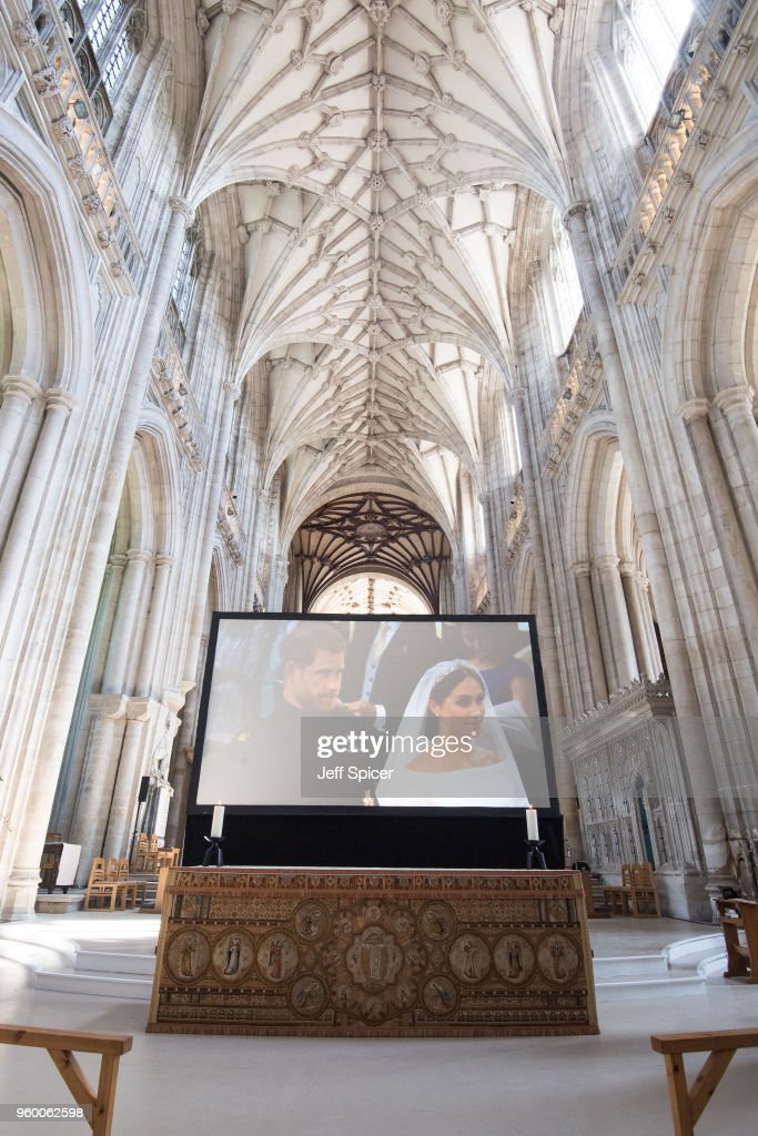 Winchester Cathedral Royal Wedding Screening