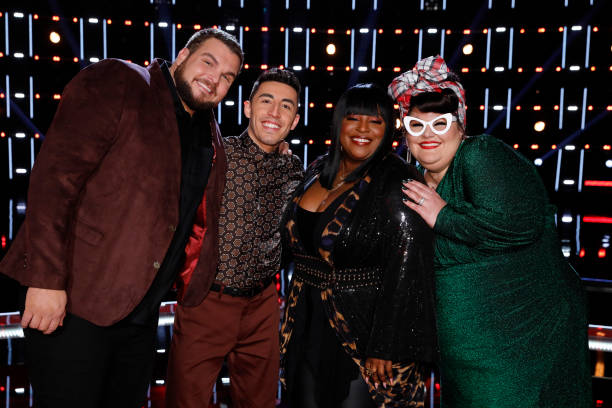 "CA: NBC'S ""The Voice"" - ""Live Semi Final Eliminations"" Episode 1719B"