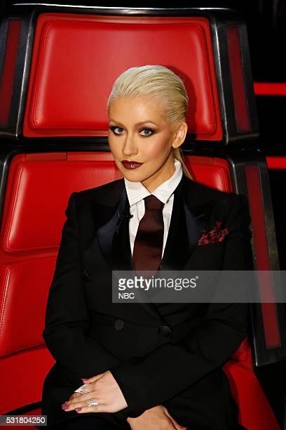 THE VOICE Live Semi Finals Episode 1017A Pictured Christina Aguilera