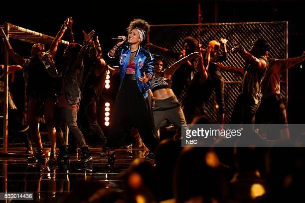 THE VOICE 'Live Semi Finals' Episode 1017B Pictured Alicia Keys