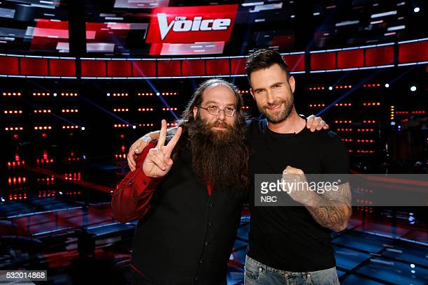 THE VOICE 'Live Semi Finals' Episode 1017B Pictured Laith AlSaadi Adam Levine