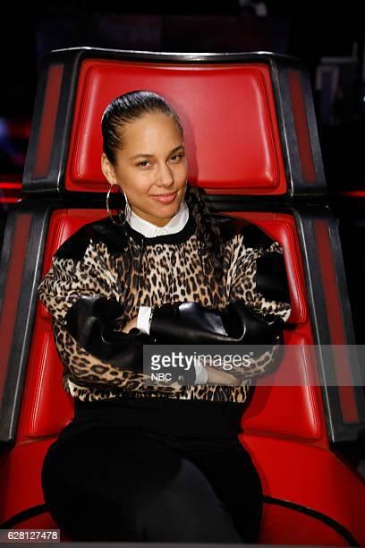 THE VOICE 'Live Semi Finals' Episode 1117A Pictured Alicia Keys