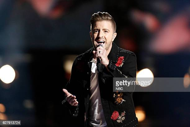 The Voice Live Semi Finals Episode A Pictured Billy Gilman