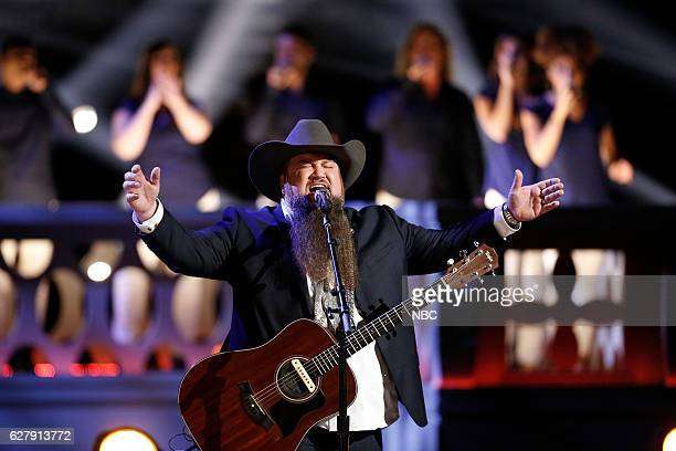 THE VOICE Live Semi Finals Episode 1117A Pictured Sundance Head
