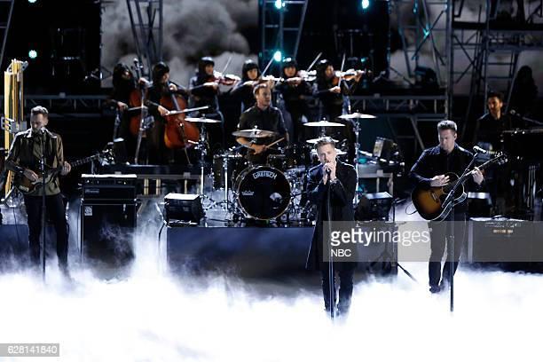 "Live Semi Finals"" Episode 1117B -- Pictured: OneRepublic --"
