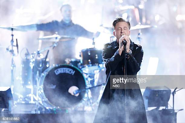 THE VOICE Live Semi Finals Episode 1117B Pictured OneRepublic