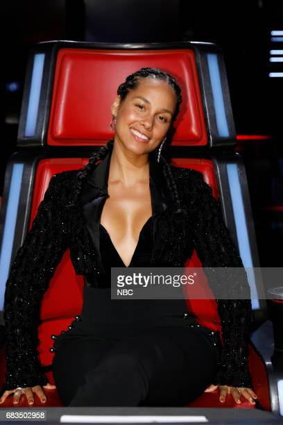 THE VOICE 'Live Semi Finals' Episode 1218A Pictured Alicia Keys