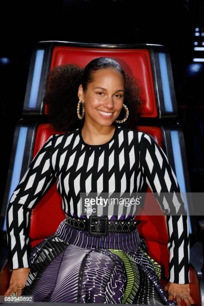THE VOICE 'Live Semi Finals' Episode 1218B Pictured Alicia Keys