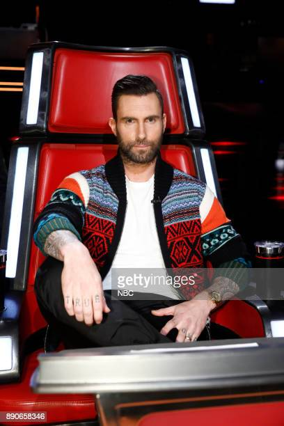 THE VOICE 'Live Semi Finals' Episode 1320A Pictured Adam Levine