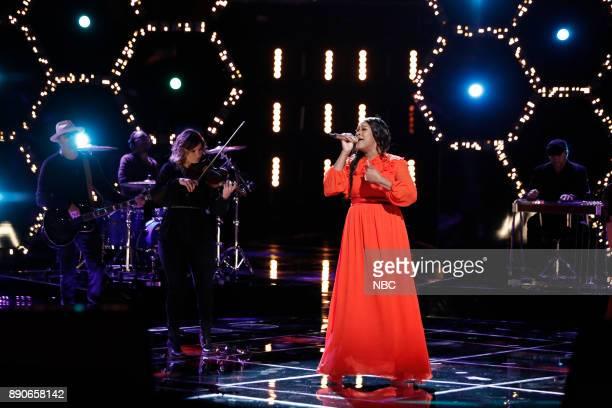 THE VOICE 'Live Semi Finals' Episode 1320A Pictured Keisha Renee