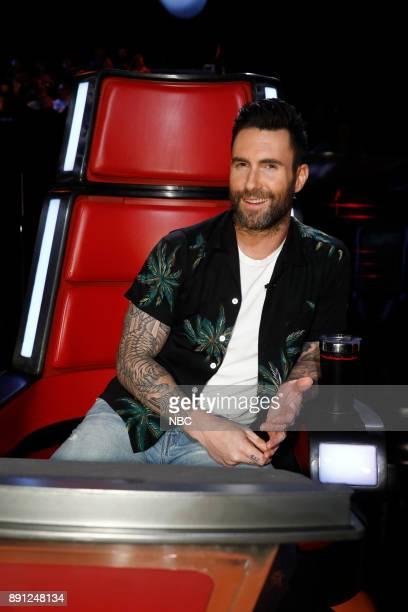 THE VOICE 'Live Semi Finals' Episode 1320B Pictured Adam Levine