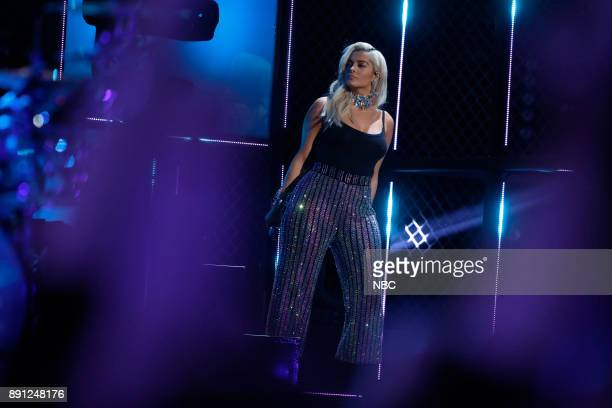 THE VOICE 'Live Semi Finals' Episode 1320B Pictured Bebe Rexha