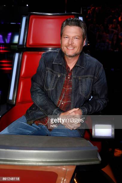 THE VOICE 'Live Semi Finals' Episode 1320B Pictured Blake Shelton