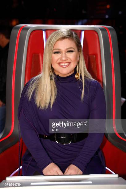 THE VOICE Live Semi Finals Episode 1518A Pictured Kelly Clarkson