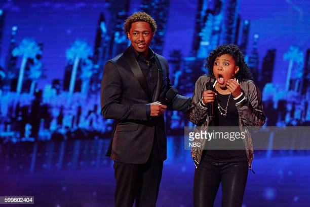 S GOT TALENT Live SemiFinals 2 Episode 1120 Pictured Nick Cannon Jayna Brown