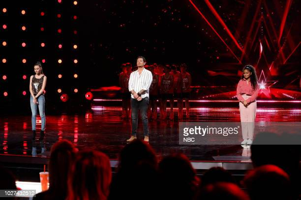 S GOT TALENT 'Live SemiFinals Results 1' Episode 1318 Pictured Makayla Phillips Michael Ketterer Amanda Mena