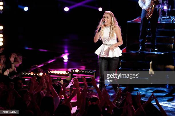 THE VOICE Live Semis Episode 917A Pictured Emily Ann Roberts