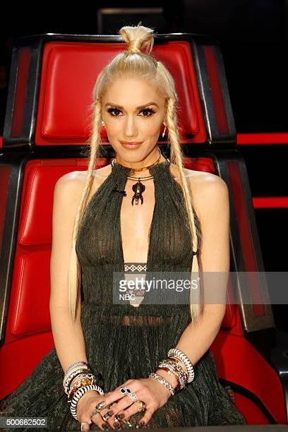 THE VOICE 'Live Semis' Episode 917A Pictured Gwen Stefani