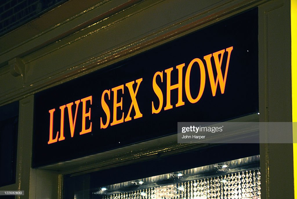 Live Sex Show Sign Amsterdam Holland Stock Photo - Getty ...