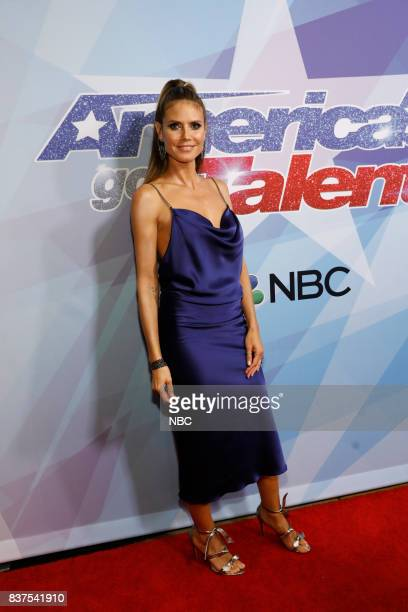 S GOT TALENT 'Live Show 2' Pictured Heidi Klum