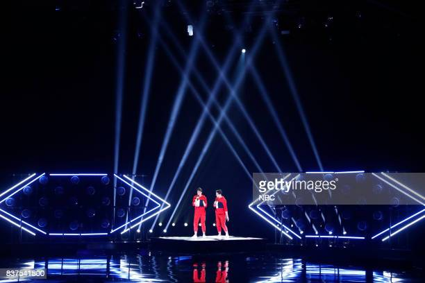 S GOT TALENT 'Live Show 2' Pictured Mirror Image