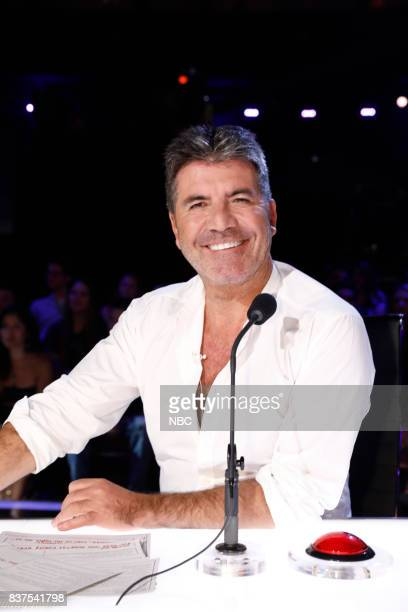 S GOT TALENT Live Show 2 Pictured Simon Cowell