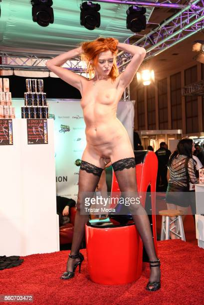 Live Show during the Venus Erotic Fair Opening 2017 on October 12 2017 in Berlin Germany