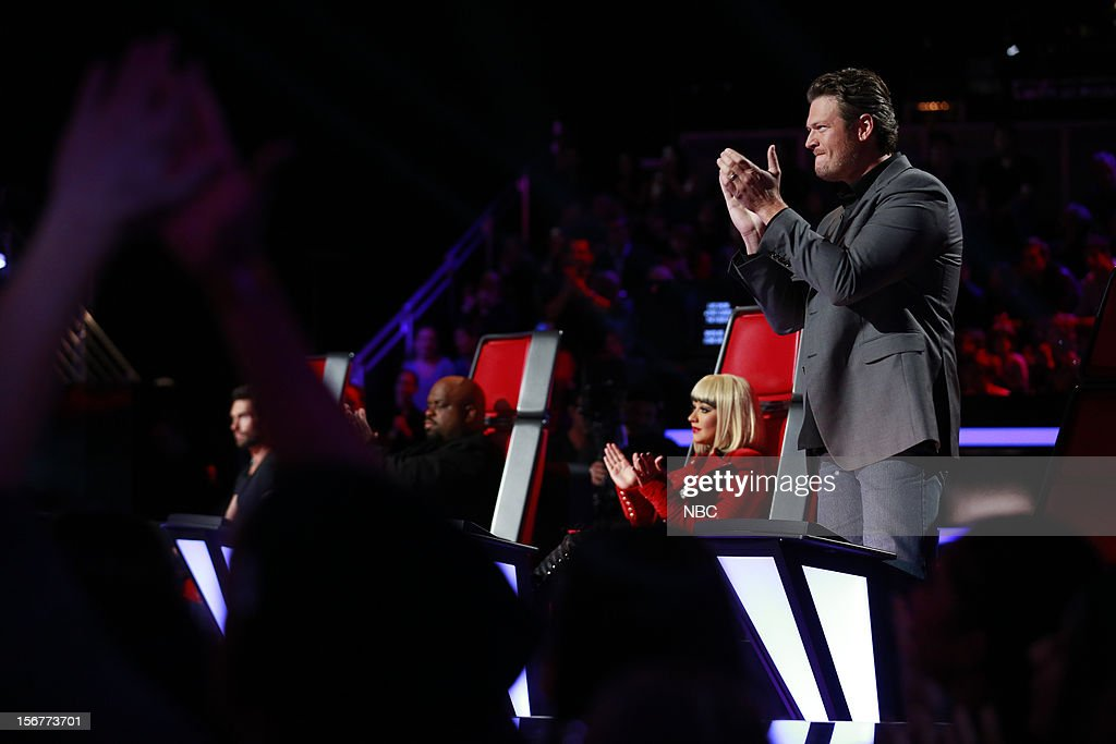 THE VOICE -- 'Live Show' Episode 319B -- Pictured: Blake Shelton --