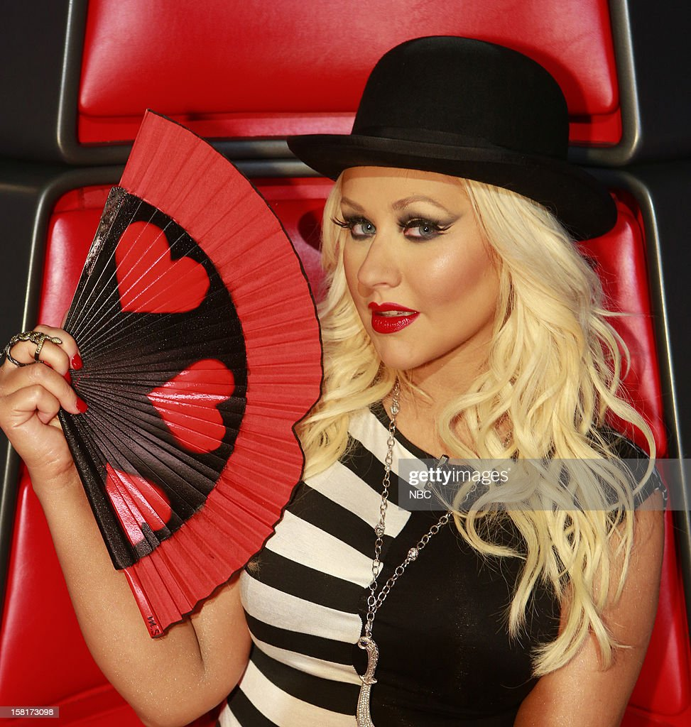 THE VOICE -- 'Live Show' Episode 322A -- Pictured: Christina Aguilera --