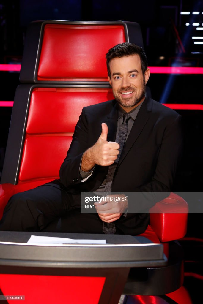 THE VOICE -- 'Live Show' Episode 516A -- Pictured: Carson Daly --