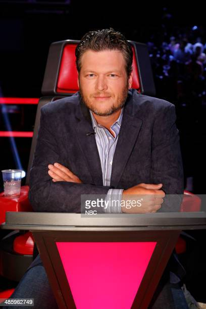 """Live Show"""" Episode 617A -- Pictured: Blake Shelton --"""