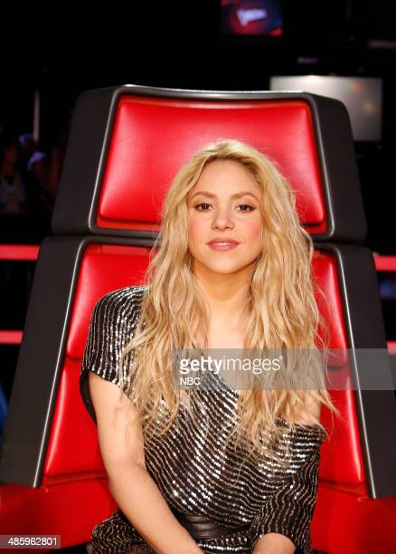 THE VOICE Live Show Episode 617A Pictured Shakira