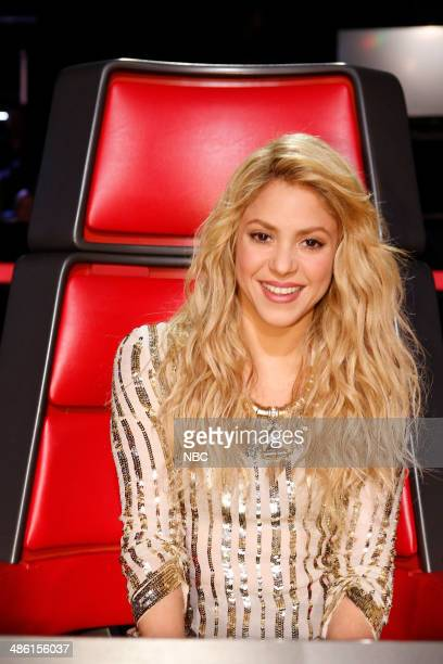 THE VOICE Live Show Episode 617B Pictured Shakira