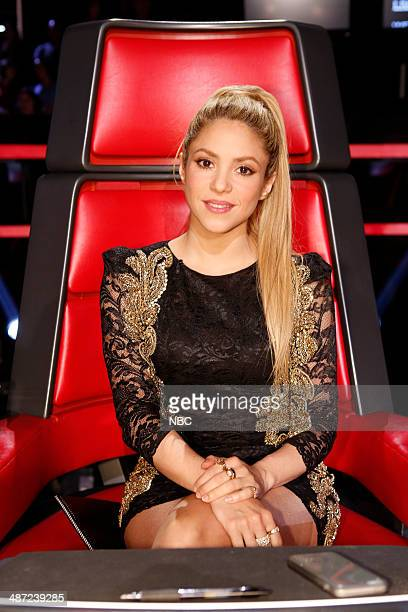 THE VOICE Live Show Episode 618A Pictured Shakira