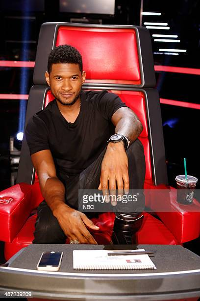 THE VOICE Live Show Episode 618A Pictured Usher
