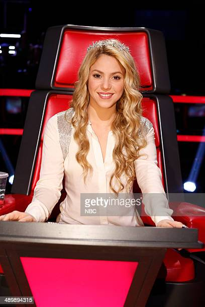 THE VOICE 'Live Show' Episode 620A Pictured Shakira