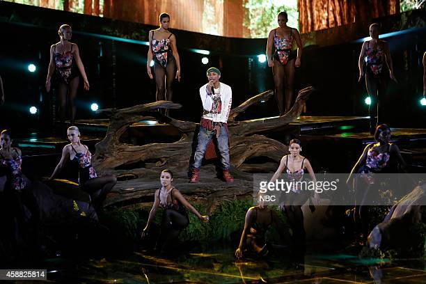 THE VOICE Live Show Episode 713B Pictured Pharrell Williams