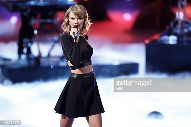 THE VOICE Live Show Episode 715B Pictured Taylor Swift