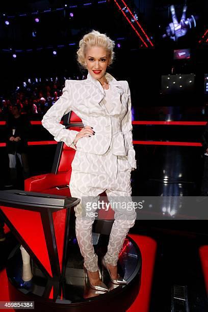 THE VOICE Live Show Episode 716B Pictured Gwen Stefani
