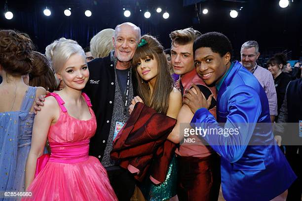 LIVE 'Live Show Events' Pictured Dove Cameron Neil Meron Ariana Grande Garrett Clayton Ephraim Sykes