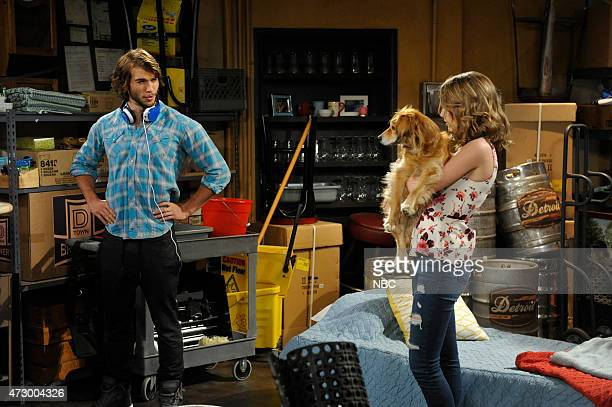 UNDATEABLE A Live Show Walks Into A Bar Episode 209B Pictured Adam Hagenbuch as Trent Bridgit Mendler as Candace