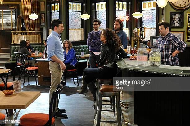 UNDATEABLE A Live Show Walks Into A Bar Episode 209B Pictured Brent Morin as Justin Rick Glassman as Burski Briana Henry as Lauren Chris D'Elia as...