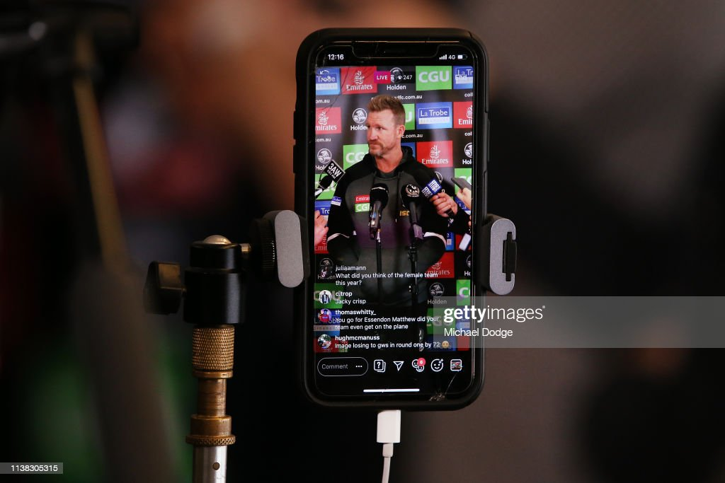AUS: Collingwood Magpies Media Opportunity
