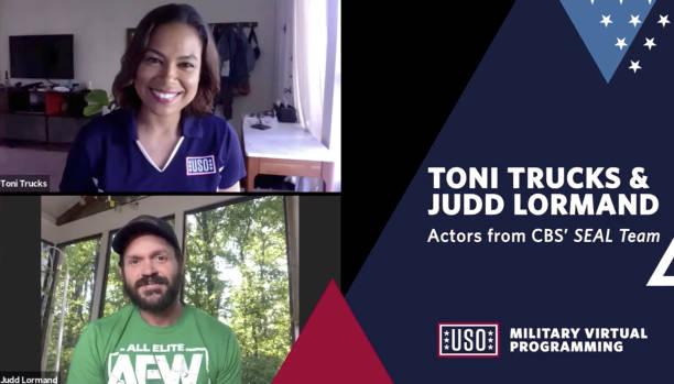 CA: USO Livestream Q&A with SEAL Team's  Toni Trucks & Judd Lormand